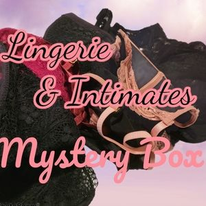 Lace Lingerie & Intimates Mystery Box NWT & NWOT